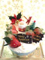 2018由香里絵クリスマスケーキ予約開始の、お知らせ。