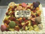 NHK 恋と就活のダンパ|特注バースディケーキ