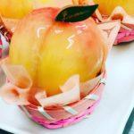 桃タルト。